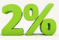 2% off